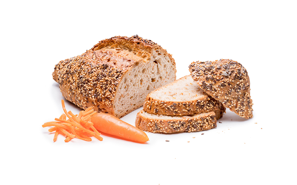 Dinkel-Karotten Brot