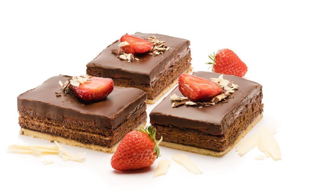 Erdbeer-Brownie