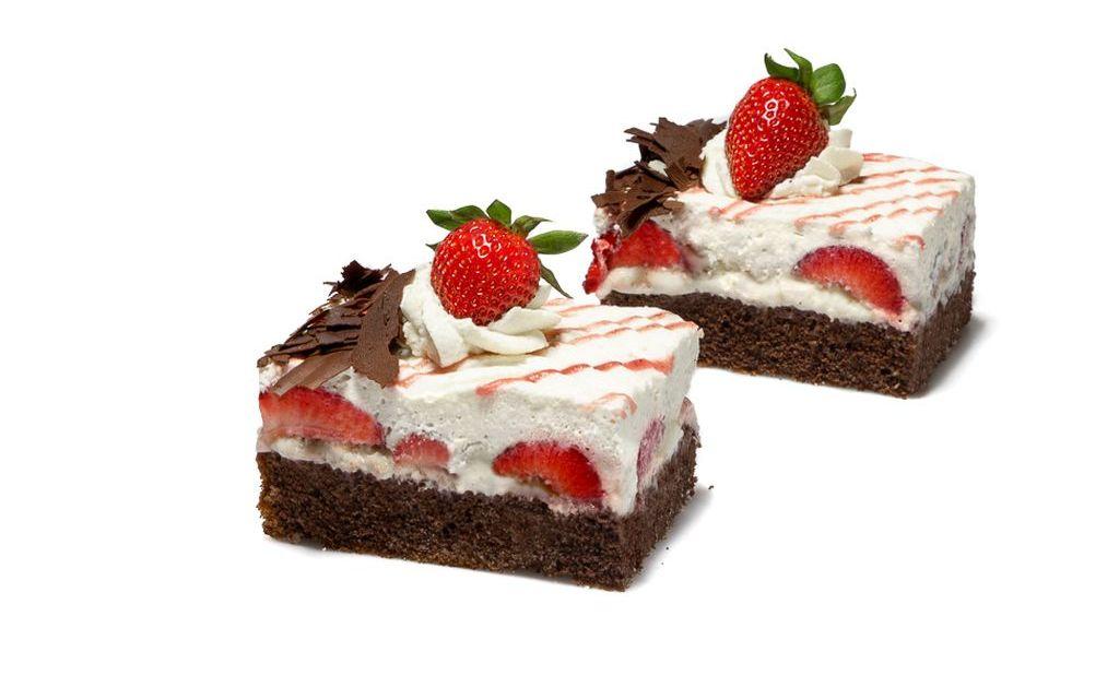 Erdbeer-Marmorschnitte