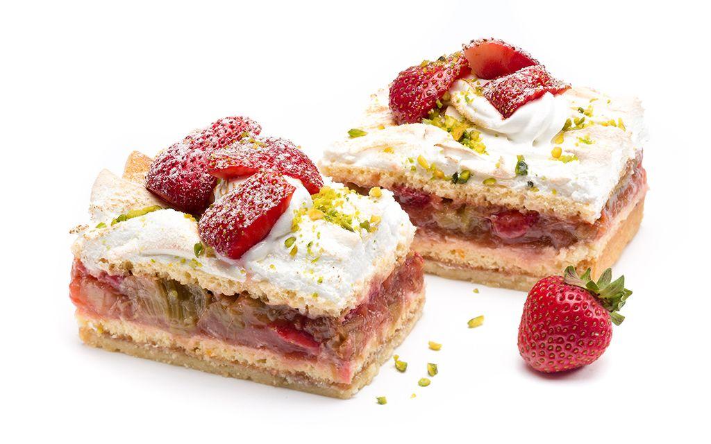 Erdbeer-Rhabarber-Baiser