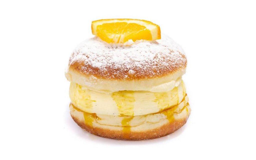 Orange-Cheesecake Krapfen