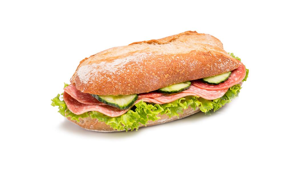 Mailänder Salami Sandwich