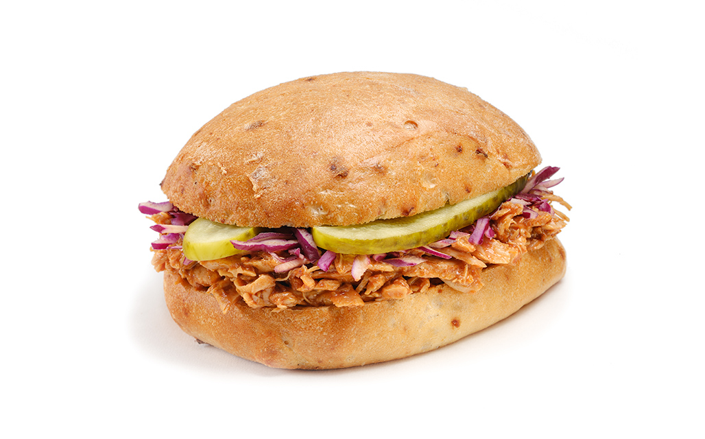 Barbecue-Chicken Sandwich