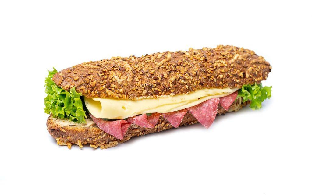Salami-Käsestange