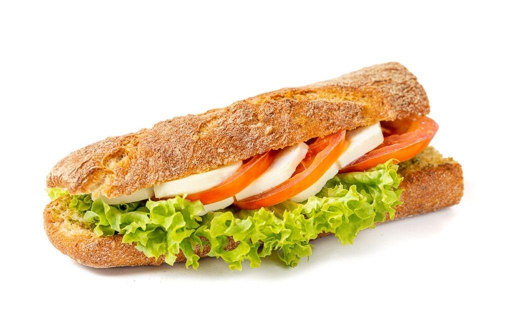 Tomate-Mozzarella Sandwich