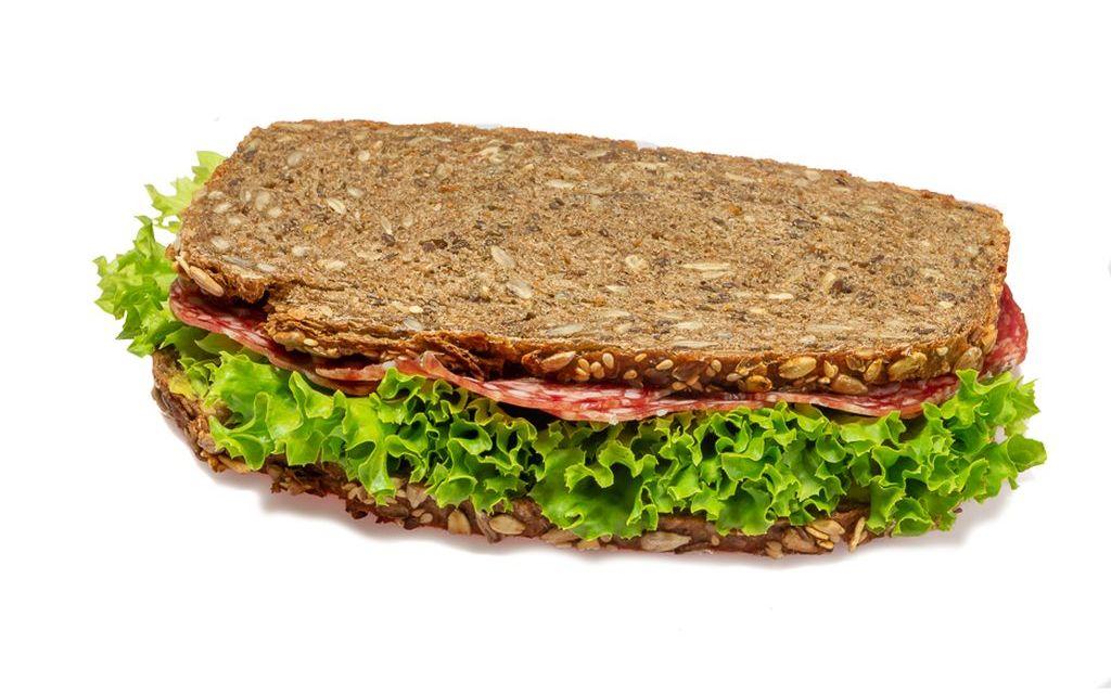 Mailänder Salami Pausenbrot