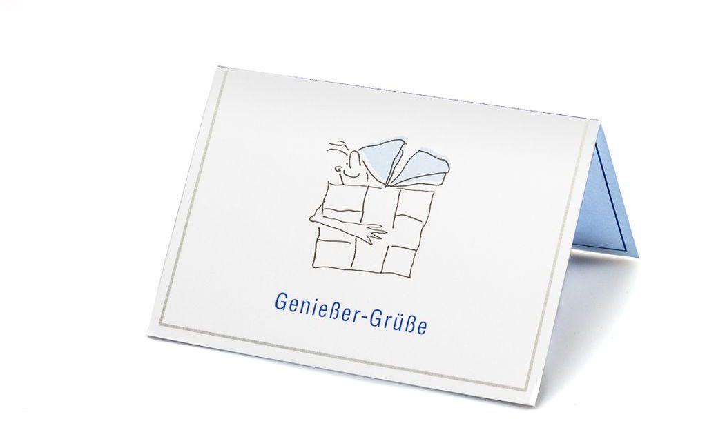 "Grußkarte ""Genießer Grüße"""